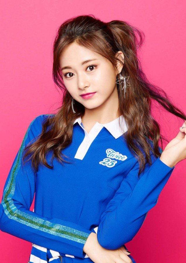 Tzuyu teaser images for 'One More Time'