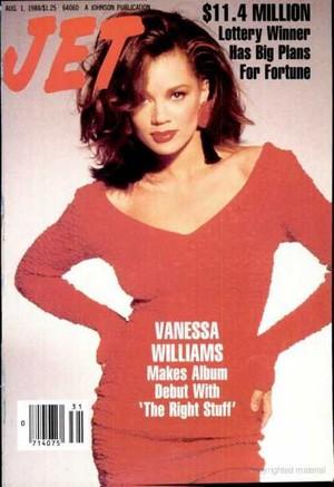 Vanessa Williams On The Cover Of Jet Magazine