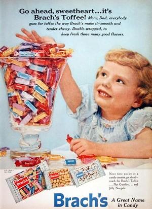 Vintage कैन्डी Advertisements