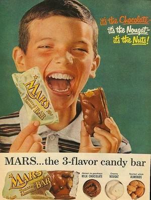 Vintage Конфеты Advertisements