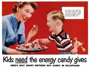 Vintage caramelle Advertisements