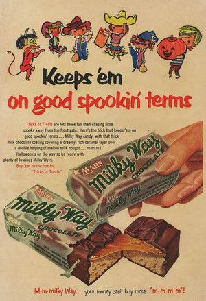 Vintage Kandi Advertisements
