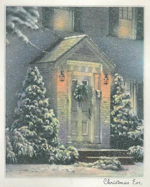 Vintage 크리스마스 Cards