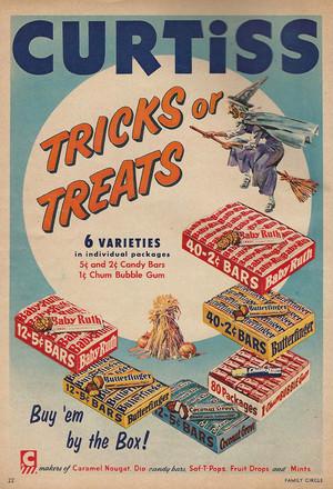 Vintage Halloween Kandi Ads