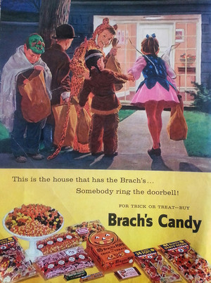 Vintage Halloween Candy Ads