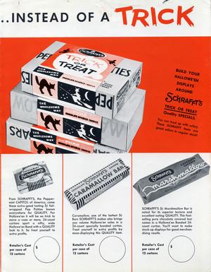 Vintage 할로윈 캔디 Ads