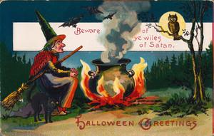 Vintage Хэллоуин Cards