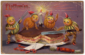 Vintage 할로윈 Cards