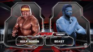 美国职业摔跤 2K15 Hulk Hogan vs X-Men's Beast