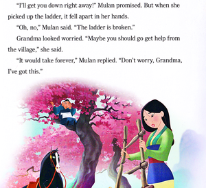 Walt Disney Book Scans – Mulan: Khan to the Rescue (English Version)