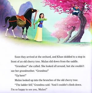 Walt Disney Book Scans – Mulan: Khan to the Rescue (English Version)