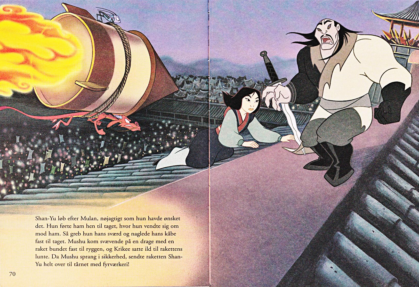 Walt Disney Book Scans –Mulan: The Story of Fa Mulan (Danish Version)