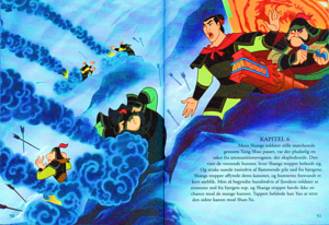 Walt डिज़्नी Book Scans – Mulan: The Story of Fa मूलन (Danish Version)