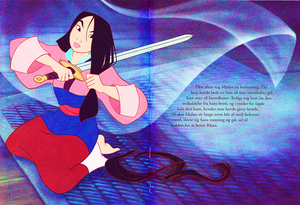 Walt Disney Book Scans – Mulan: The Story of Fa Mulan (Danish Version)