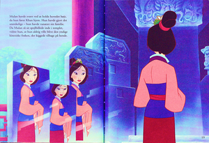 Walt ডিজনি Book Scans – Mulan: The Story of Fa মুলান (Danish Version)
