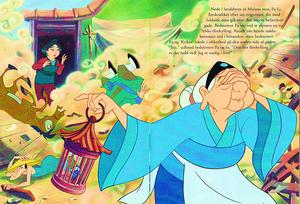 Walt 디즈니 Book Scans – Mulan: The Story of Fa 뮬란 (Danish Version)
