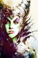 Walt Disney Fan Art - Maleficent - walt-disney-characters fan art