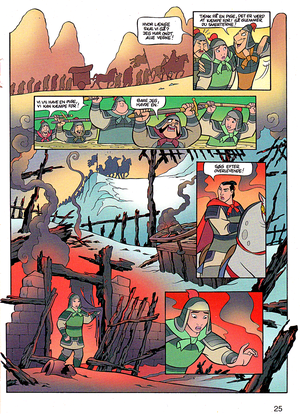 Walt Disney Movie Comics - Mulan (Danish Version)