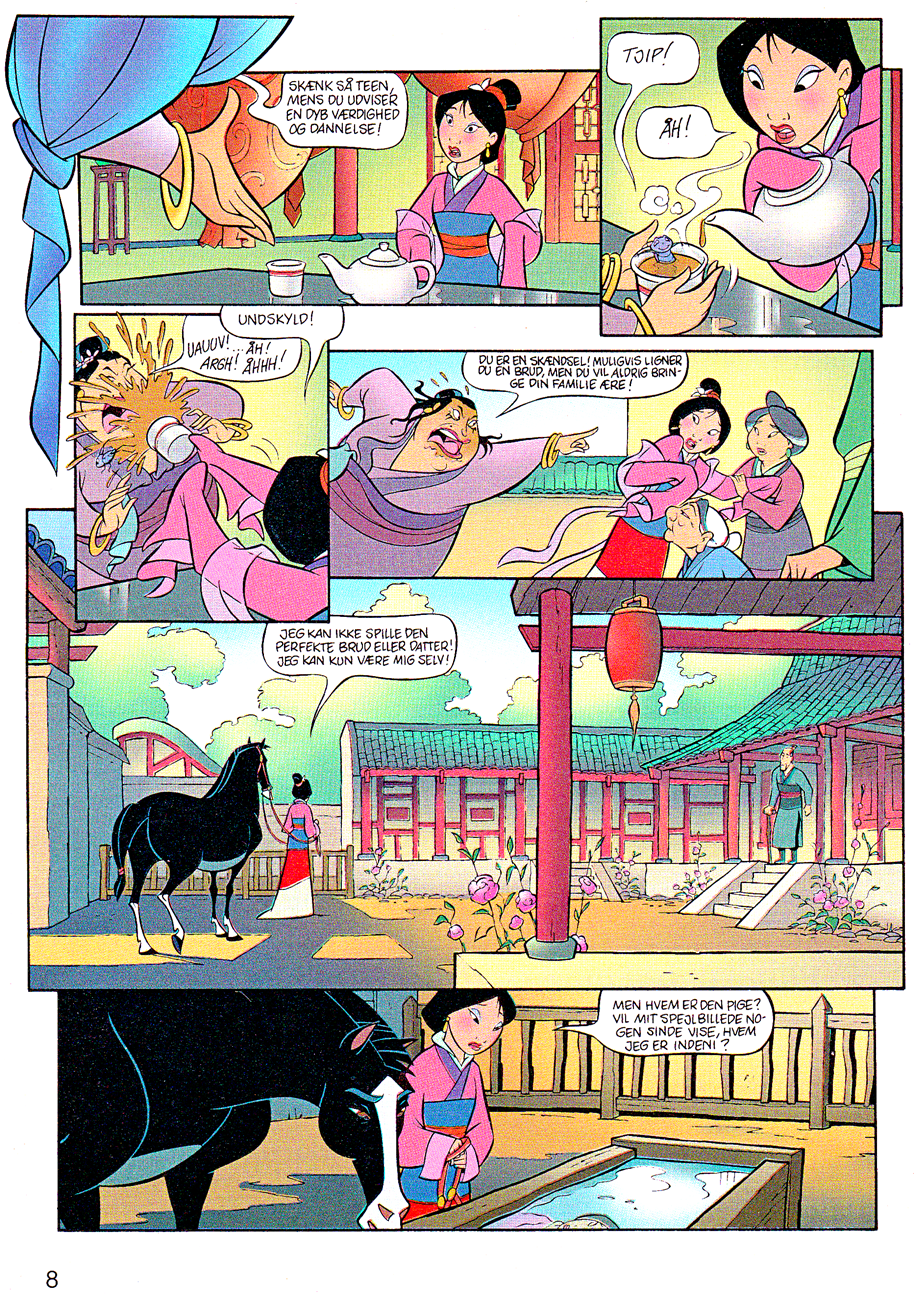 Walt Disney Movie Comics - Mulan (Danish Version)