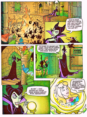 Walt Дисней Movie Comics – Sleeping Beauty (Danish 1995 Version)