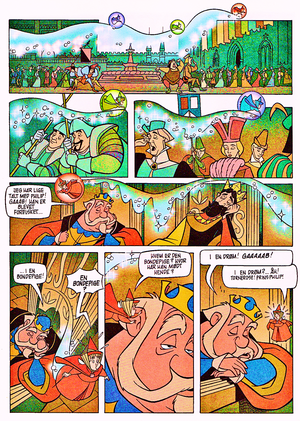 Walt 迪士尼 Movie Comics – Sleeping Beauty (Danish 1995 Version)