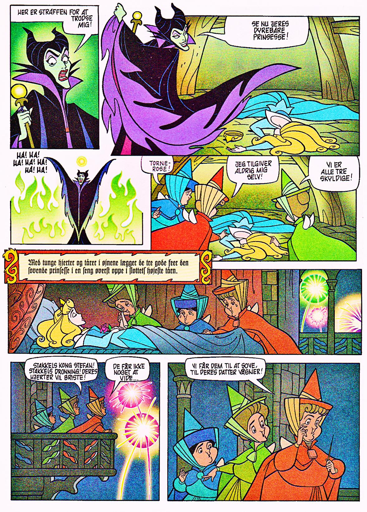 Walt Disney Movie Comics – Sleeping Beauty (Danish 1995 Version)