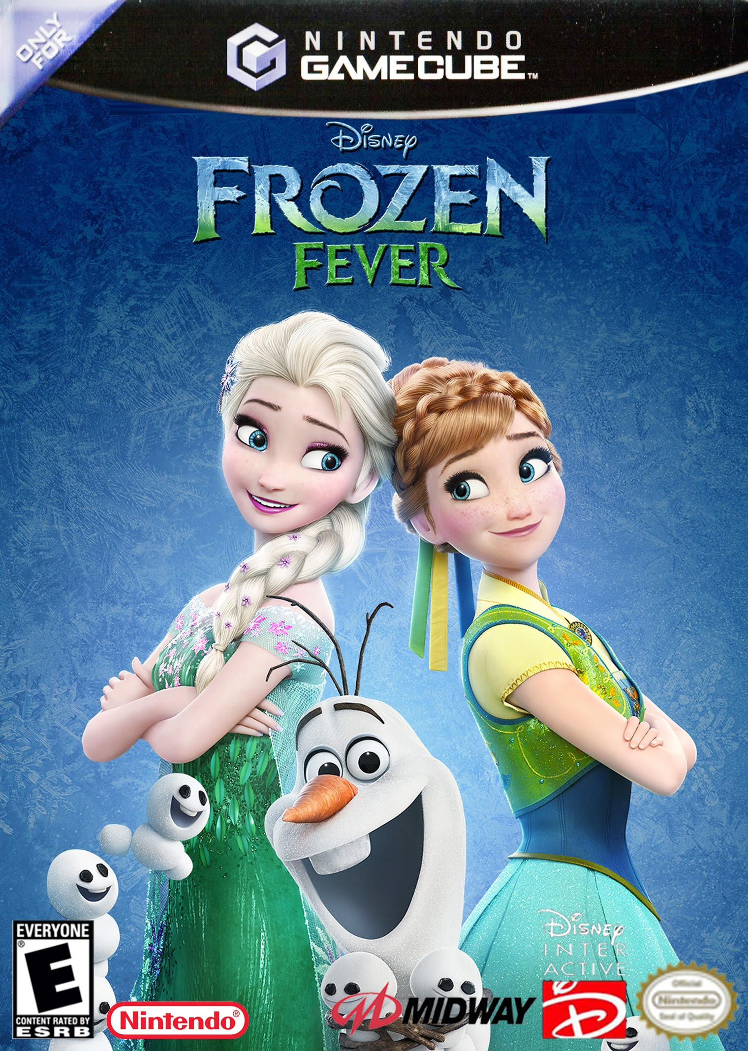 Walt Disney's Frozen Fever (2003) Only for Nintendo GameCube cover art