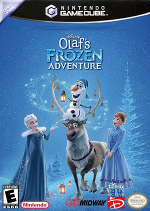 Walt Disney's Olaf's アナと雪の女王 Adventure (2004) Only for 任天堂 GameCube cover art