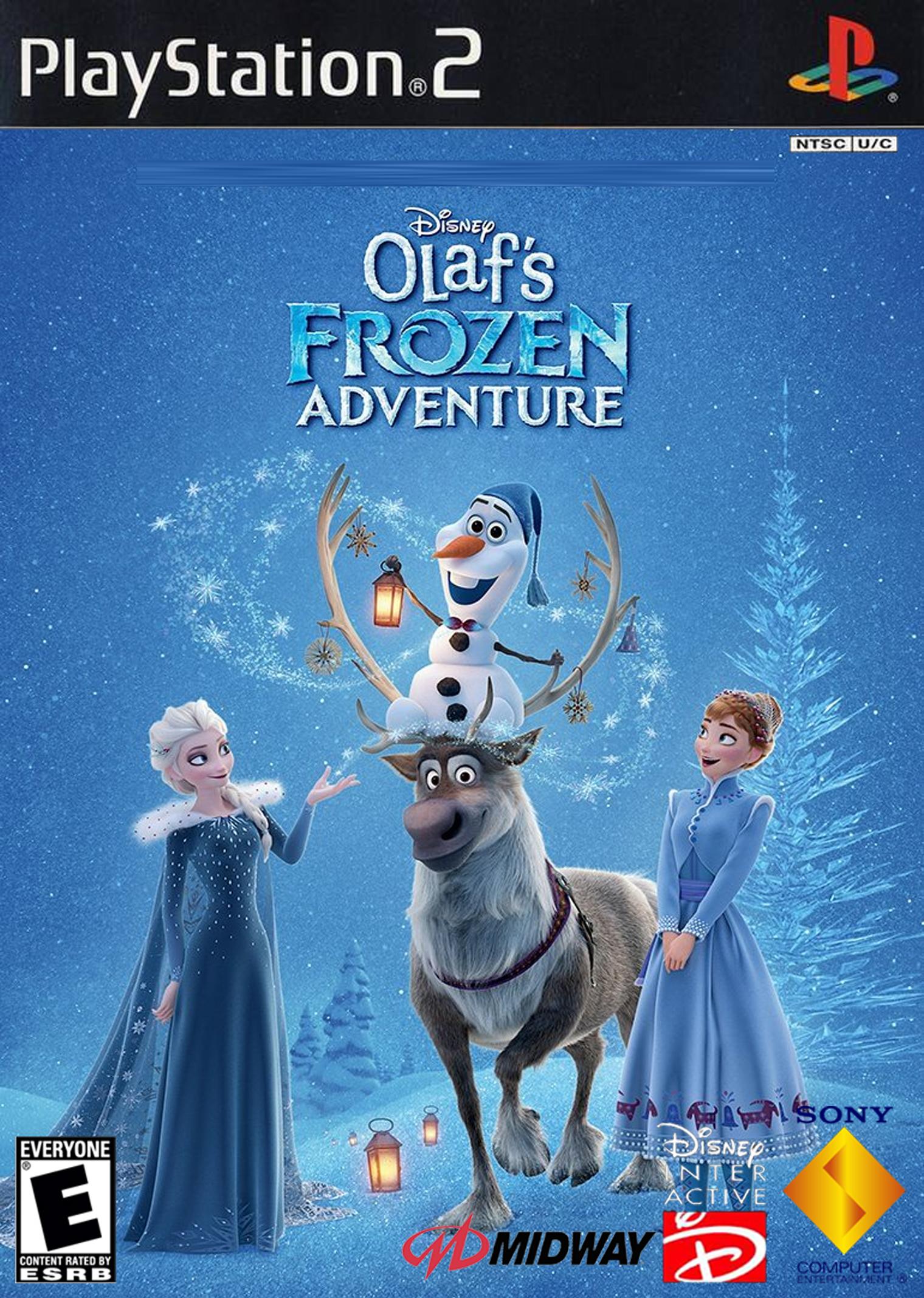 Walt Disney's Olaf's Frozen Adventure (2004) PlayStation 2 cover art