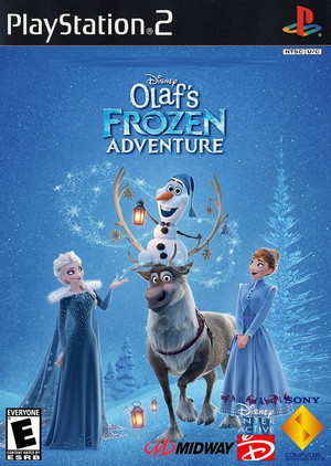 Walt Disney's Olaf's アナと雪の女王 Adventure (2004) PlayStation 2 cover art