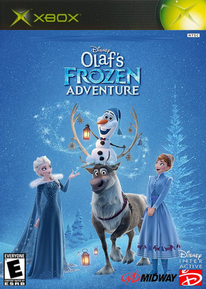 Walt Disney's Olaf's Frozen Adventure (2004) Xbox cover art