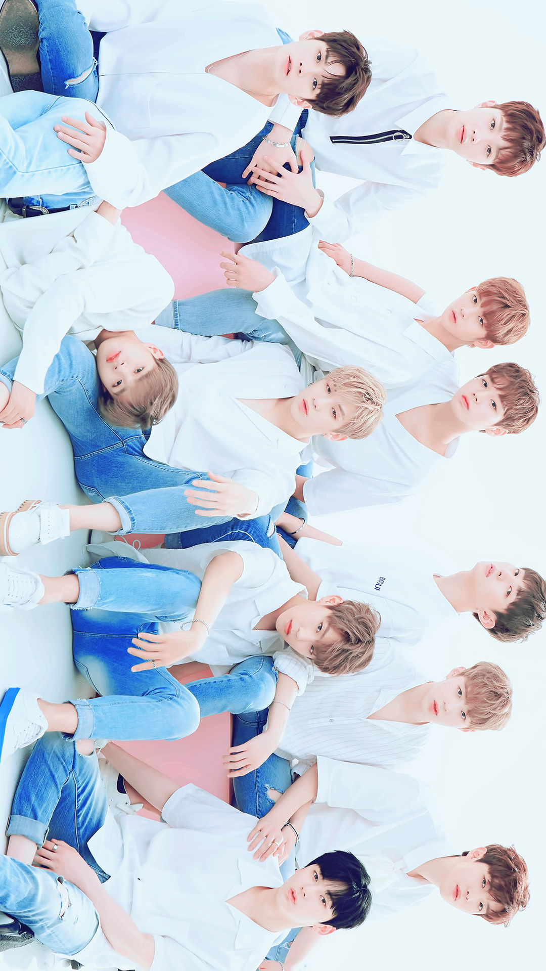 Wanna One Gambar Wanna One Profil Group Hd Wallpaper And Background