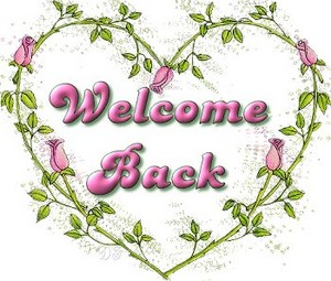 Welcome Back Sharon