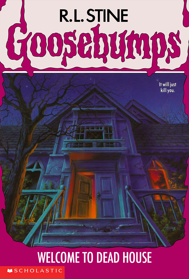 goosebumps images welcome to dead house hd wallpaper and background