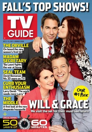 Will and Grace Cast on TV Guide