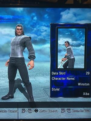 Winston in Soul Calibur 5