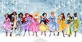 Winter Princesses - disney-princess fan art