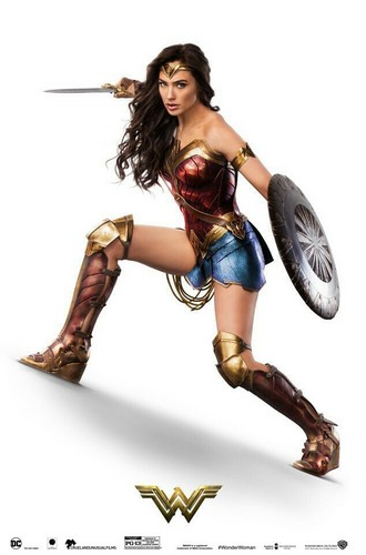Wonder Woman (2017) karatasi la kupamba ukuta called Wonder Woman