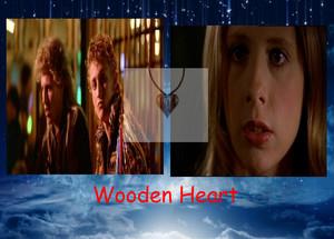 Wooden دل