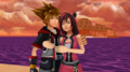 You and Me well be Together SoKai Day Sora x Kairi