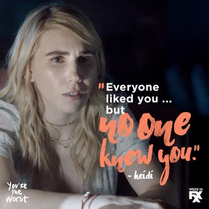 You're the Worst Season 4 frases