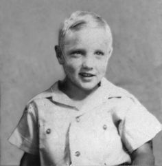 Young Elvis As A Natural Blonde