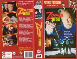 ZOMBIE HIGH (VHS)