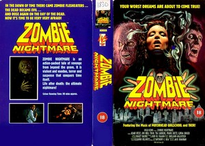 ZOMBIE NIGHTMARE (VHS)