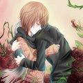 Zero/Yuuki Fanart - Hug - vampire-knight-yuki-zero fan art