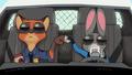 carrots and slick on patrol - furries wallpaper