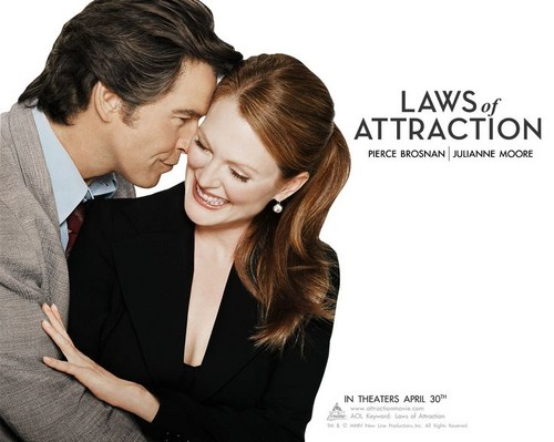 Laws of Attraction वॉलपेपर entitled laws of attraction movie poster