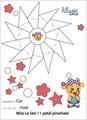 miss la sen 11 petal pinwheel