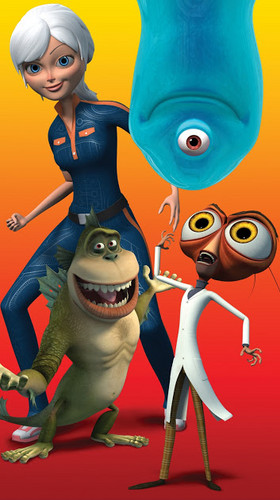 Ginormica wallpaper called monsters vs aliens post 3
