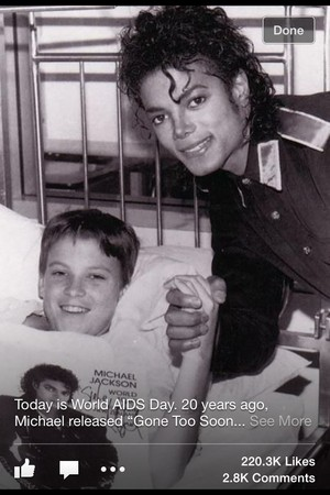 ryan white and michael jackson